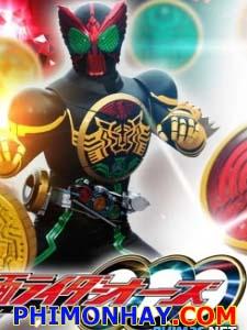 Siêu Nhân Hủy Diệt Kamen Rider Ooo.Diễn Viên: Takamasa Suga,Satoshi Matsuda,Ayano Sugiyama
