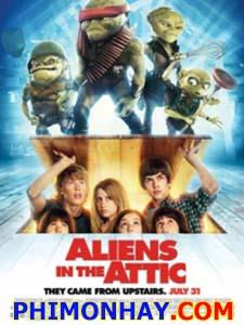 Quái Vật Trên Gác Xếp Aliens In The Attic.Diễn Viên: Carter Jenkins,Austin Robert Butler,Ashley Tisdale,Ashley Boettcher