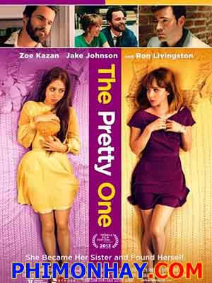 Hóa Thân The Pretty One.Diễn Viên: Zoe Kazan,Jake Johnson,Ron Livingston