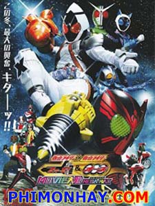 Movie War Mega Max - Kamen Rider X Kamen Rider Fourze And Ooo
