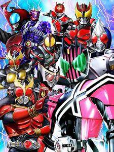 Kamen Rider Decade Giả Diện Kị Sĩ Decade.Diễn Viên: Shotaro Hidari,Akiko Narumi,Mikio Jinno