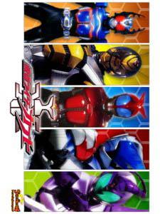 Kamen Rider Kabuto Kamen Rider Series 16.Diễn Viên: Shotaro Hidari,Akiko Narumi,Mikio Jinno
