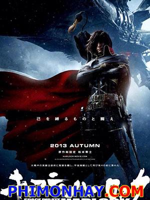 Thuyền Trưởng Hải Tặc Vũ Trụ Harlock Space Pirate Captain Harlock.Diễn Viên: Yû Aoi,Ayano Fukuda,Arata Furuta