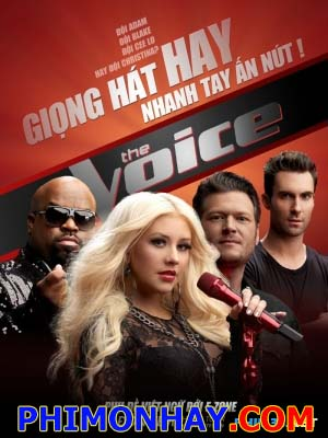 The Voice Season 3 The Voice Của Mỹ.Diễn Viên: Christina Aguilerablake Shelton