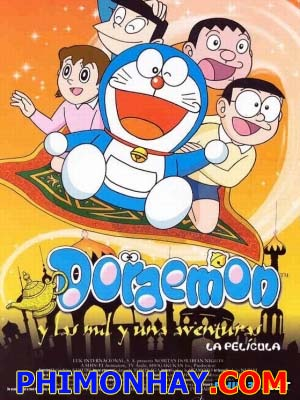 Nobita Lạc Vào Xứ Ba Tư - Doraemon: Nobitas Dorabian Nights