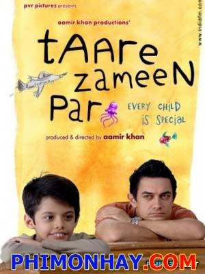 Cậu Bé Đặc Biệt Taare Zameen Par.Diễn Viên: Darsheel Safary,Aamir Khan,Tanay Chheda,Sachet Engineer,Tisca Chopra,Vipin Sharma