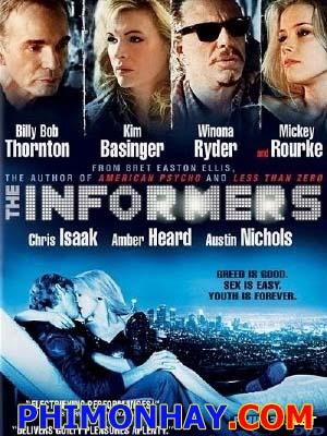 Kẻ Giấu Mặt The Informers.Diễn Viên: Jon Foster,Austin Nichols,Amber Heard,Lou Taylor Pucci