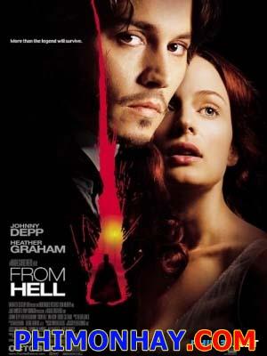 Từ Địa Ngục From Hell.Diễn Viên: Johnny Depp,Heather Graham,Ian Holm