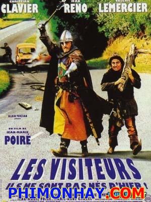 Ngài Bá Tước Lạc Vào Tương Lai Les Visiteurs.Diễn Viên: Christian Clavier,Jean Reno,Valérie Lemercier