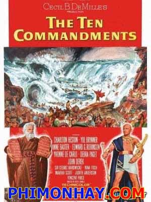 10 Điều Răn Của Chúa 2 The Ten Commandments 2.Diễn Viên: Charlton Heston,Yul Brynner,Anne Baxter