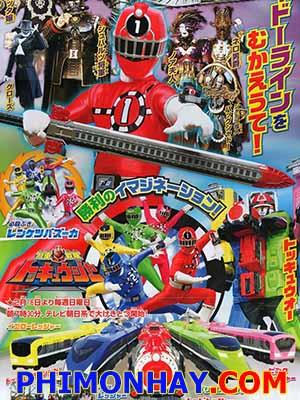 Ressha Sentai Toqger Vs Kamen Rider Gaim - Spring Vacation Combining Special