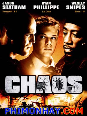 Ngục Tù Thép Hỗn Loạn: Chaos.Diễn Viên: Jason Statham,Ryan Phillippe,Wesley Snipes
