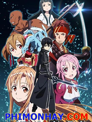 Đao Kiếm Thần Vực Sword Art Online.Diễn Viên: Frontier Works,Media Factory,Movic,At,X,White Fox,Kadokawa Pictures Japan,Mages