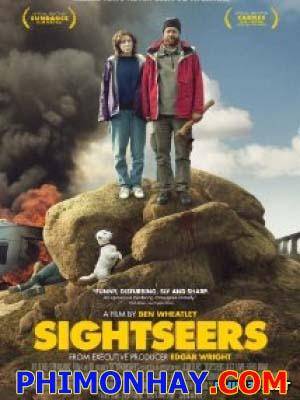 Khách Thăm Quan Sightseers.Diễn Viên: Alice Lowe,Eileen Davies,Steve Oram