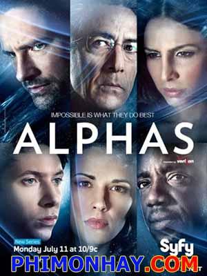 Biệt Đội Alphas Alphas.Diễn Viên: David Strathairn,Ryan Cartwright,Warren Christie