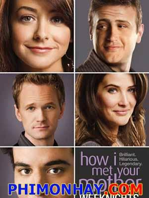 Chuyện Tình Được Thuật Lại 6 How I Met Your Mother 6.Diễn Viên: Osh Radnor,Jason Segel,Cobie Smulders