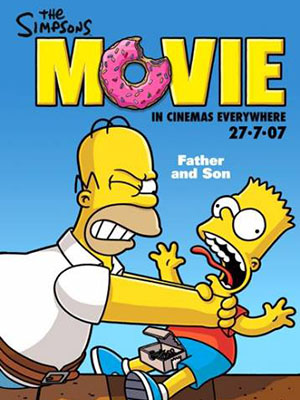 The Simpsons Movie Gia Đình Simpsons.Diễn Viên: Martin Freeman,Tim Curry,Tim Conway,Ashley Tisdale