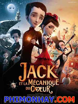 Trái Tim Không Được Yêu Jack And The Cuckoo Clock Heart.Diễn Viên: Mathias Malzieu,Olivia Ruiz,Grand Corps Malade