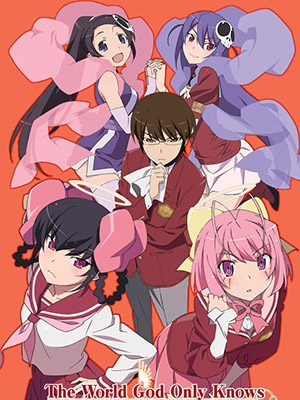Kami Nomi Zo Shiru Sekai The World God Only Knows: Kaminomi.Diễn Viên: To Makoto,Saionji Sekai,Katsura Kotonoha