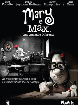 Mary And Max Tình Bạn Quái Lạ.Diễn Viên: Toni Collette,Philip Seymour Hoffman,Eric Bana