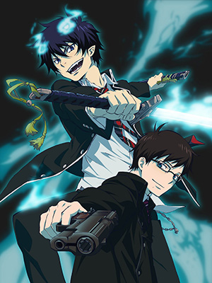 Lam Hỏa Diệt Quỷ Ao No Exorcist.Diễn Viên: Frontier Works,Media Factory,Movic,At,X,White Fox,Kadokawa Pictures Japan,Mages