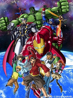 Marvel Disk Wars - The Avengers