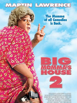 Vú Em Fbi 2 Big Mommas House 2.Diễn Viên: Martin Lawrence,Nia Long,Emily Procter,Zachary Levi,Mark Moses