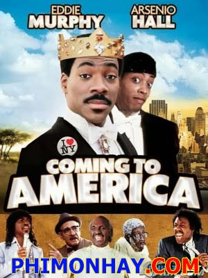 Tìm Vợ Phương Xa Coming To America.Diễn Viên: Eddie Murphy,Arsenio Hall,James Earl Jones,John Amos,Madge Sinclair,Shari Headley,Paul Bates,Eriq