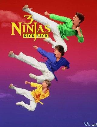 3 Ninja Siêu Quậy - 3 Ninjas Kick Back