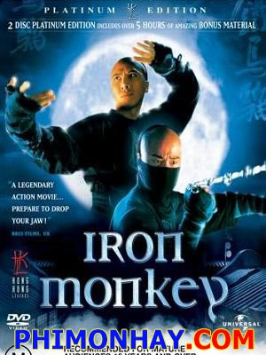 Thiết Hầu Iron Monkey.Diễn Viên: Jean Wang Yu,Rongguang,Chung Tử Đơn