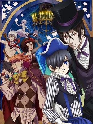 Hắc Quản Gia Ss3: Kuroshitsuji Ss3 Black Butler 3: Book Of Circus.Diễn Viên: Kiyokazu Kanze,Kenichi Matsuyama,Nana Mizuki