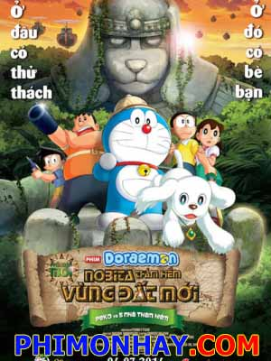 Doraemon: Nobita Và Pho Tượng Thần Khổng Lồ New Nobitas Great Demon - Peko And The Exploration Party Of Five.Diễn Viên: Michiko Nomura,Eiga Doraemo,Peko To 5,Nin No Tankentai