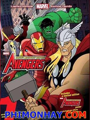 Anh Hùng Hội Tụ Phần 1 Avengers Assemble Season 1.Diễn Viên: Adrian Pasdar,Laura Bailey,Fred Tatasciore