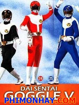 Dai Sentai Goggle V The Movie 5 Anh Em Siêu Nhân.Diễn Viên: Tommy Lee Jones,Hilary Swank,Grace Gummer