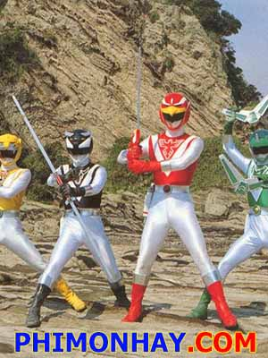 Choujuu Sentai Liveman Super Sentai 12.Diễn Viên: Bubba Smith,David Graf,Michael Winslow