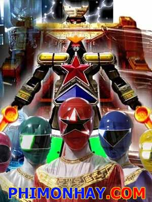 Chouriki Sentai Ohranger Siêu Lực Chiến Đội.Diễn Viên: Cuồng Nộ,Mùa Hè Đóng Băng