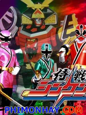 Samurai Sentai Shinkenger Siêu Nhân Thần Kiếm.Diễn Viên: Cuồng Nộ,Mùa Hè Đóng Băng
