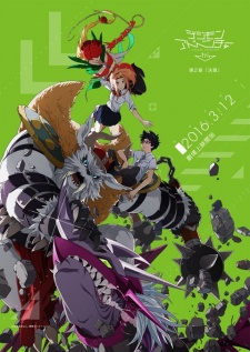 Digimon Adventure Tri. 2 Ketsui: Determination.Diễn Viên: Michiko Nomura,Eiga Doraemo,Peko To 5,Nin No Tankentai