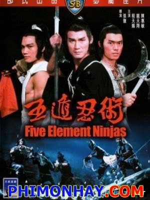 Ngũ Độn Nhẫn Thuật - Five Element Ninjas