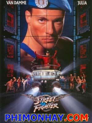 Đấu Sĩ Đường Phố Street Fighter.Diễn Viên: Jean Claude Van Damme,Raul Julia,Ming Na Wen