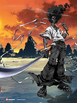 Afro Samurai アフロサムライ.Diễn Viên: Triệu Văn Trác,Vương Học Binh,Thái Thiếu Phân,Lí Tiểu Nhiễm,Kiều Chấn Vũ