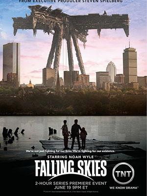 Bầu Trời Sụp Đổ Phần 1 Falling Skies Season 1.Diễn Viên: Mike Vogel,Rachelle Lefevre,Natalie Martinez,Britt Robertson,Alexander Koch,Colin Ford