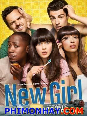 Cô Gái Kỳ Quặc Phần 1 New Girl Season 1.Diễn Viên: Zooey Deschanel,Max Greenfield,Hannah Simone