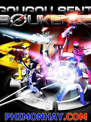Chiến Đội Phiêu Lưu - Gogo Sentai Boukenger