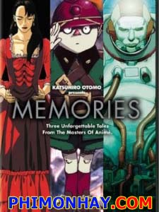 Katsuhiro Otomo Presents: Memories Magnetic Rose: Stink Bomb Cannon Fodder