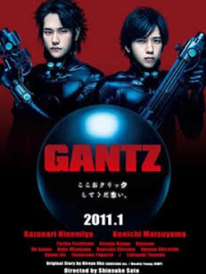 Sinh Tử Luân Hồi Gantz Live Action: Zenpen.Diễn Viên: Kazunari Ninomiya,Kenichi Matsuyama,Yuriko Yoshitaka