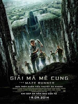 Giải Mã Mê Cung The Maze Runner.Diễn Viên: Dylan Obrien,Kaya Scodelario,Will Poulter