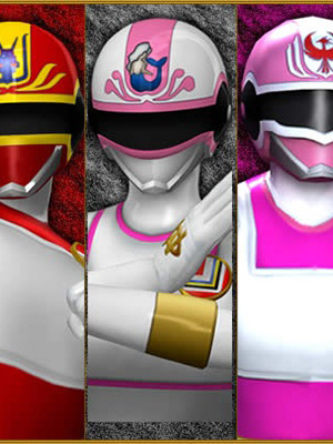 Dengeki Sentai Changeman - The Movie 1 And 2