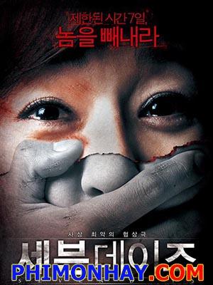 7 Ngày Địa Ngục Seven Days.Diễn Viên: Yunjin Kim,Mi,Suk Kim,Hie,Sun Park