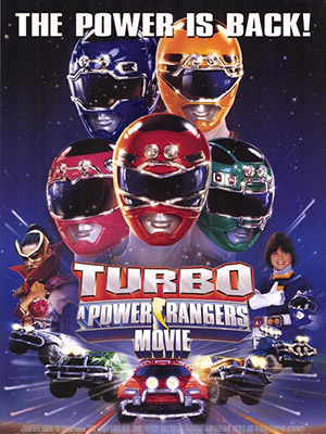 Power Rangers Turbo Movie - Siêu Nhân Xe